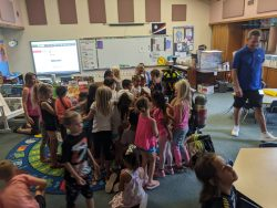 Fire Safety Classroom Demonstration